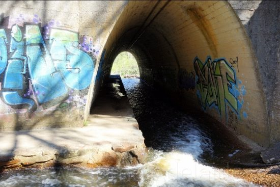 Sightseeing Cox Creek Tunnel, Bridgewater — Awesome Adelaide