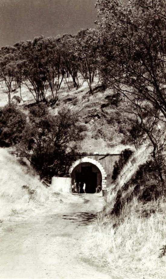 "Tunnel No. 2, ""The Big Tunnel' entrance. (Source: Supplied)"