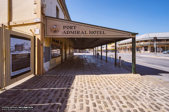 The Port Admiral Hotel, Historical, Port Adelaide.
