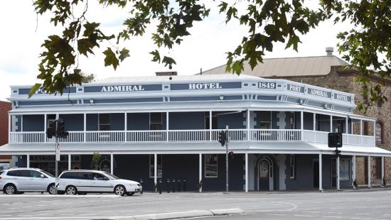 The Port Admiral Hotel, post renovations. (Picture: Roger Wyman)