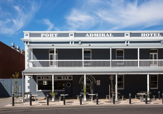 The Port Admiral Hotel, post renovations. (Picture: Josie Withers)