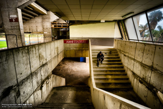 Football Park / AAMI Stadium, Abandoned Building Photographs, West Lakes, Adelaide, South Australia.