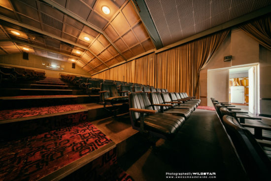 Windsor Theatre, Abandoned Building in Adelaide, Lockleys, South Australia.