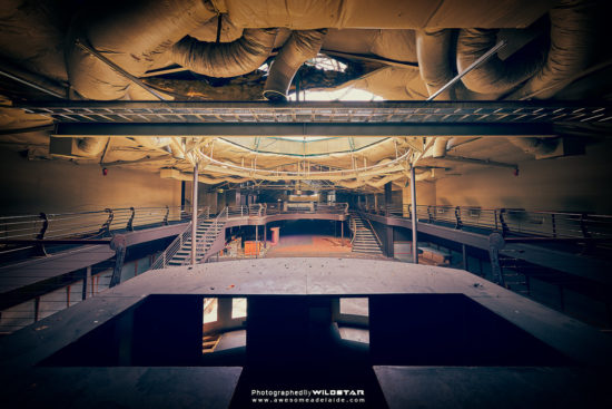 The Planet Nightclub, Abandoned Building in Adelaide, South Australia.