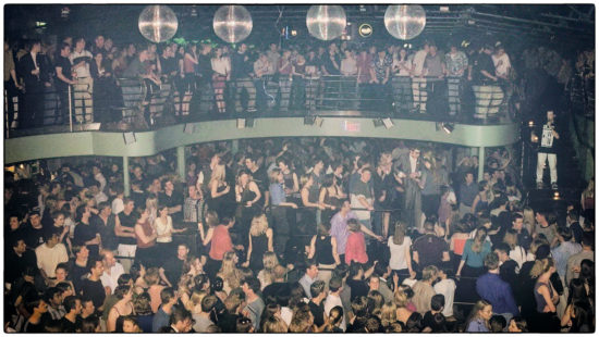 Planet Nightclub packed dancefloor.