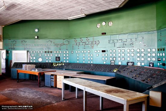 Port Augusta Power Station: Playford A\B Control Room — Awesome Adelaide