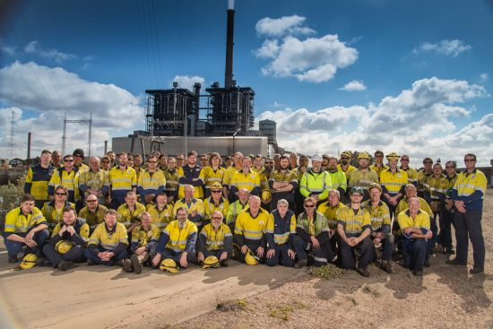 Port Augusta Power Station Mechanical Group c. 2015.