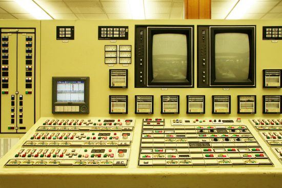 Northern Power Station Old Control Room.